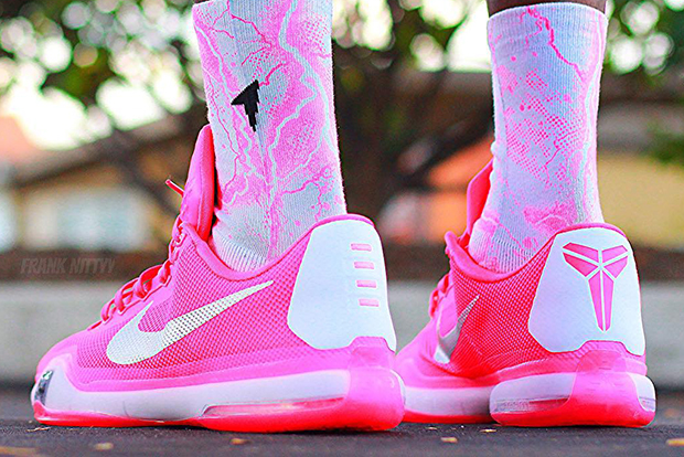 2015 08 11 Nike Kobe 10 Think Pink Pe Newest Kobe Shoes