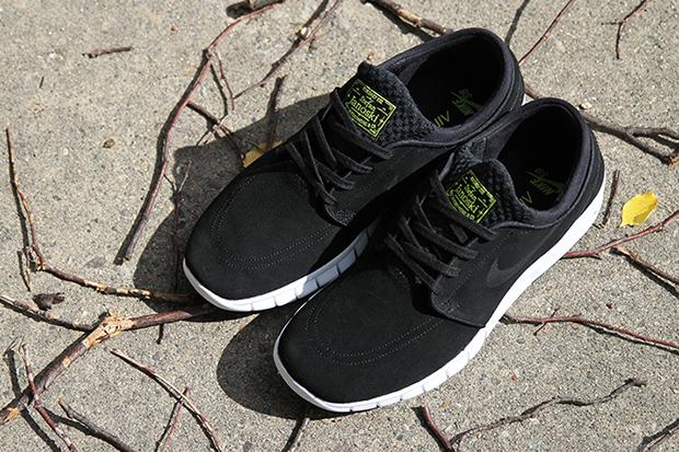 Nike Stefan Janoski Max Black Volt