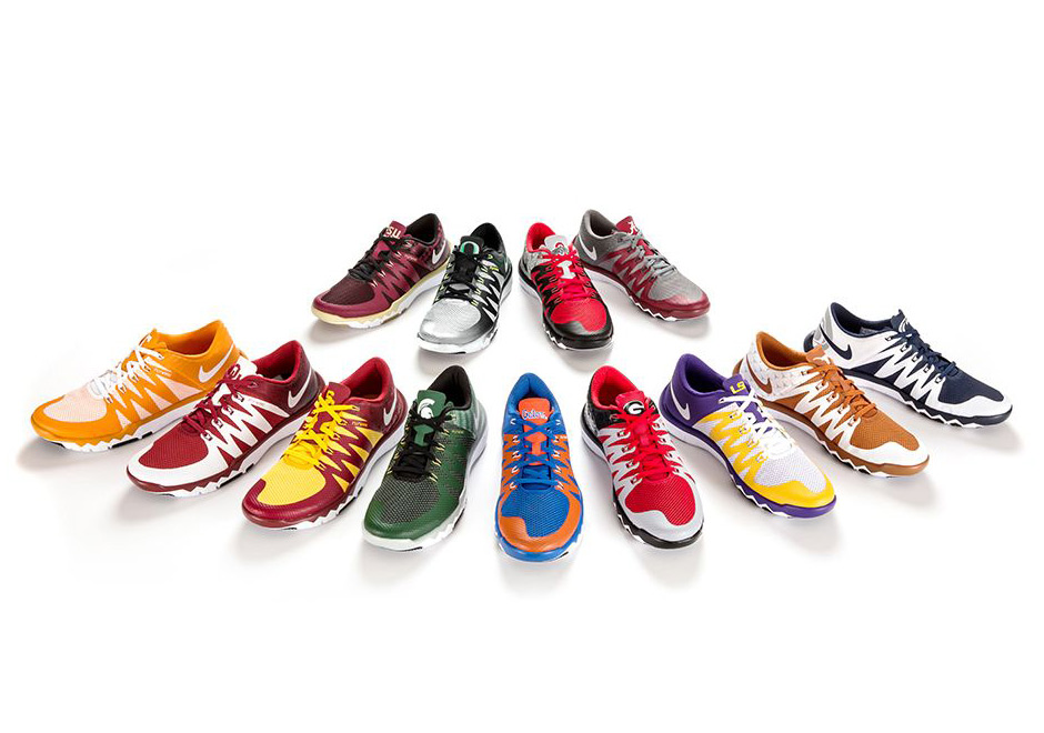 Pick Your Favorite College Football Team With The Nike .
