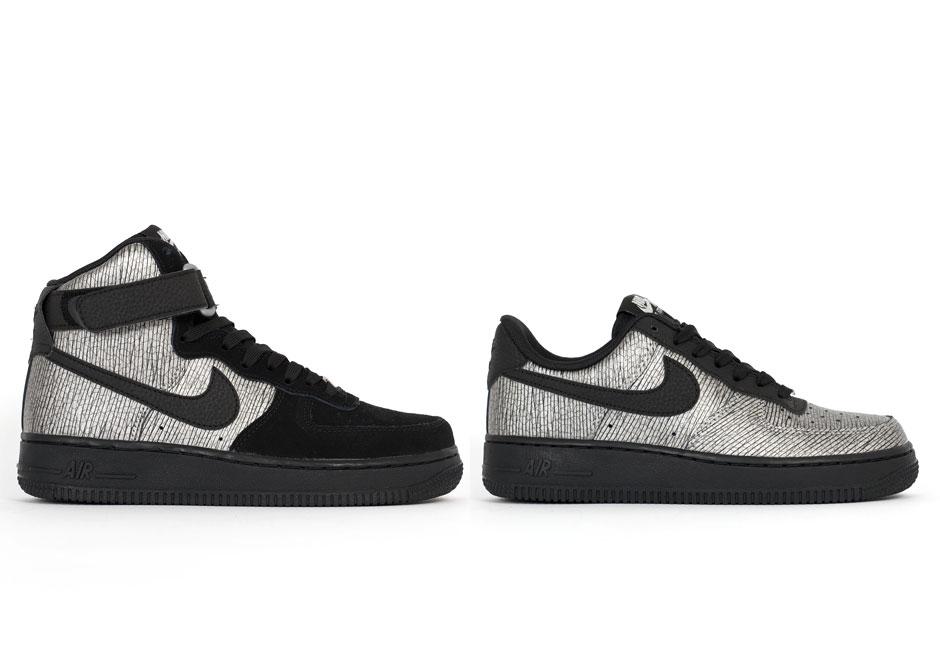 Nike Air Force Metallic