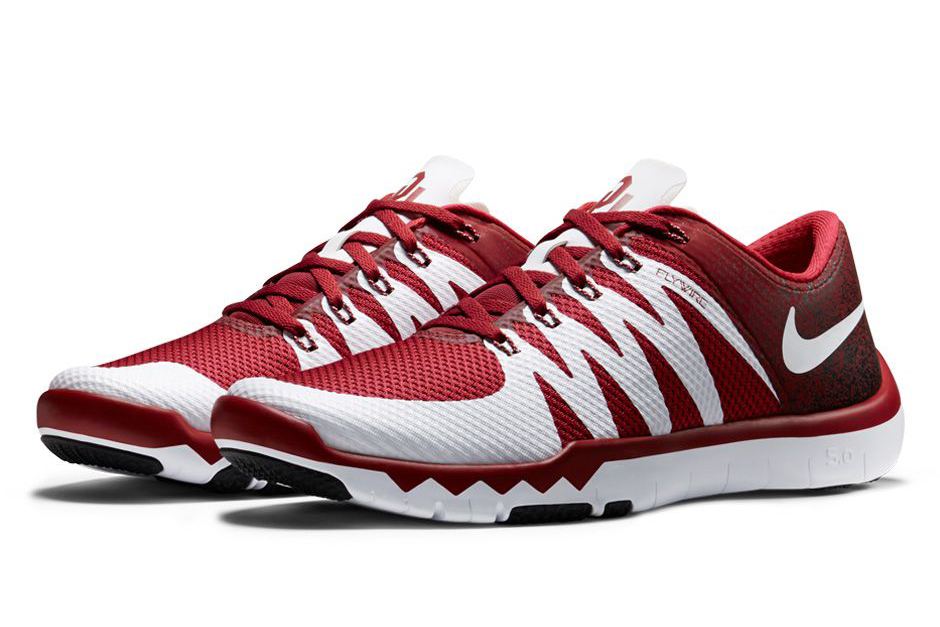 nike free tr 5 week zero college football collection