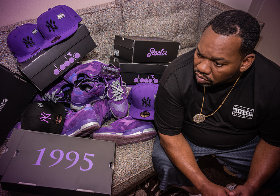 buy popular 7306a 6a62f Full Release Details For The Packer x Raekwon x Diadora