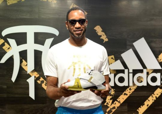 Tracy McGrady Was In China To Re-Launch The adidas T-Mac 5