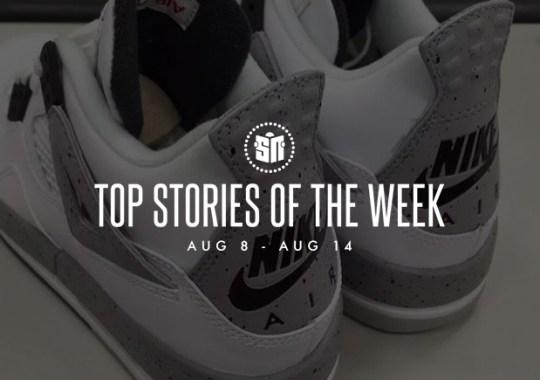 Top Stories Of The Week: 8/8 – 8/14