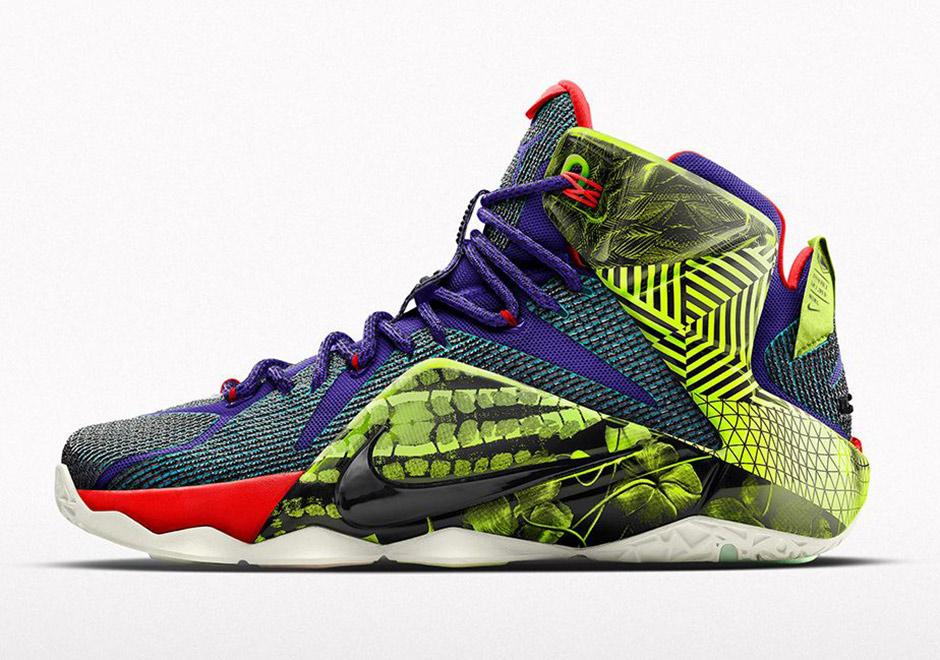 "cheaper d2dfe 71584 Nike Unlocks A ""What The"" LeBron 12 On NIKEiD"