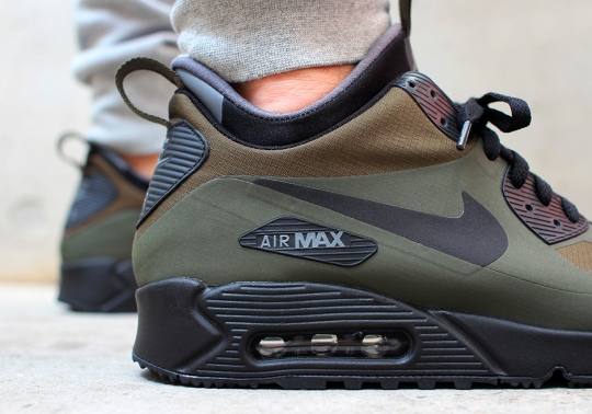 Nike Continues The Air Max 90 25th Anniversary With Winter-Ready Designs