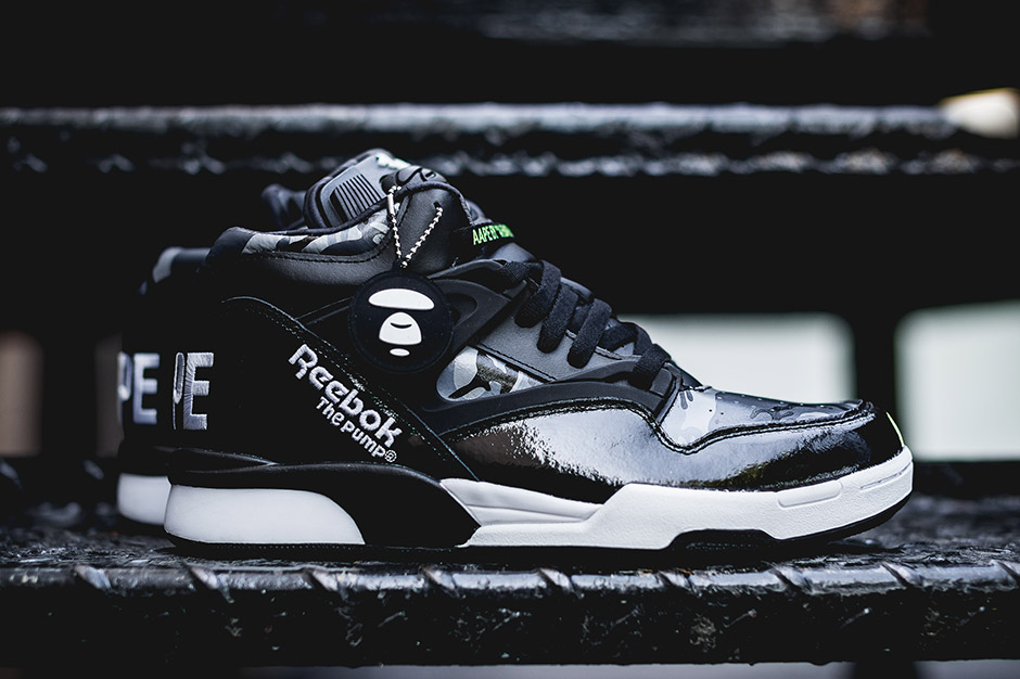 A Bathing Ape's AAPE With Another Unexpected Reebok ...