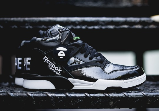A Bathing Ape's AAPE With Another Unexpected Reebok Collaboration