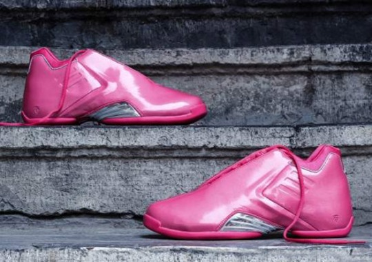 "The adidas T-Mac Retros, Like The ""Think Pink"", Continue To Turn Heads"
