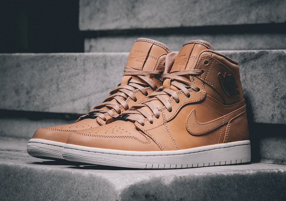 7923482352fa The Air Jordan 1 Reaches The Pinnacle Again With Vachetta Tan Leather -  SneakerNews.com