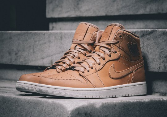The Air Jordan 1 Reaches The Pinnacle Again With Vachetta Tan Leather