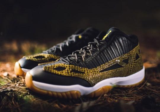 Jordan Brand Completely Remixes the Air Jordan 11 IE Low Tomorrow