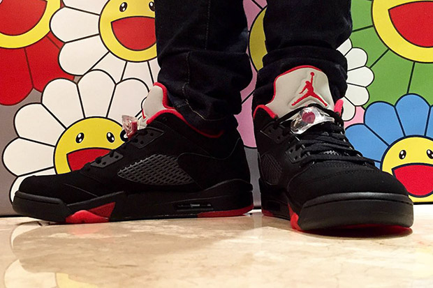 finest selection 45c50 5259a On-Foot Images Of The Air Jordan 5 Low
