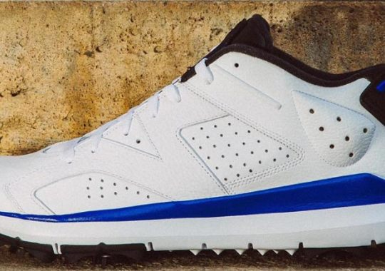 The Jordan 6 Golf Shoes Were Made In Sport Blue Too