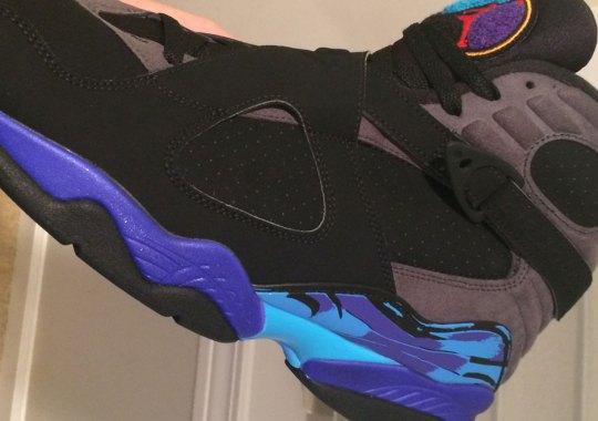"First Look At The Air Jordan 8 ""Aqua"""
