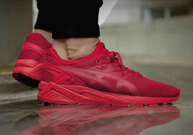 When Will The All-Red Sneaker Phase End? Not Anytime Soon