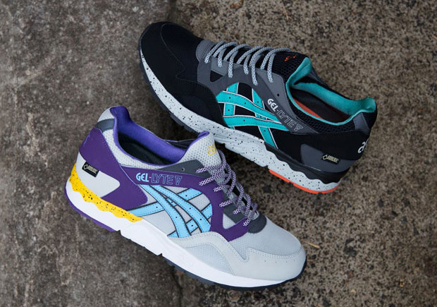 12ddfed9b2c5 ASICS Tiger gets you ready for the cold and wet weather ahead with another  season of the GEL-Lyte V equipped with Gore-Tex. The insulated approach to  the ...