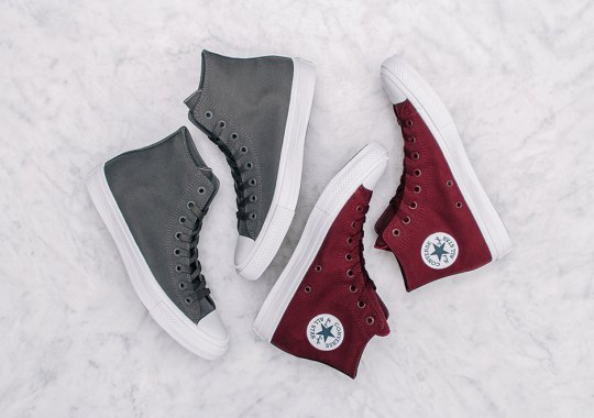 New Colorways Of The Converse Chuck Taylor II Emerge