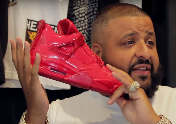 the latest 0c341 04d97 DJ Khaled Really Needs A Sixth Pair Of The Air Jordan 11Lab4 in Red