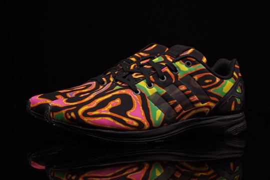 Jeremy Scott's Psychedelic adidas ZX Flux Design