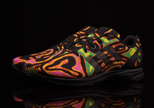 Jeremy Scott's Psychedelic adidas ZX Flux Design