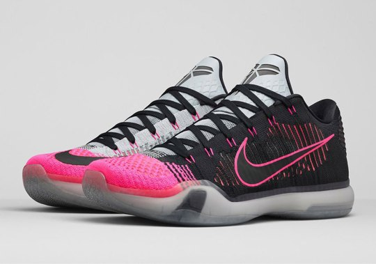 "Official Images Of The Nike Kobe 10 Elite ""Mambacurial"""
