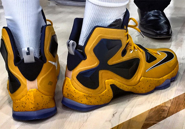 Bumblebee With His Nike LeBron 13s
