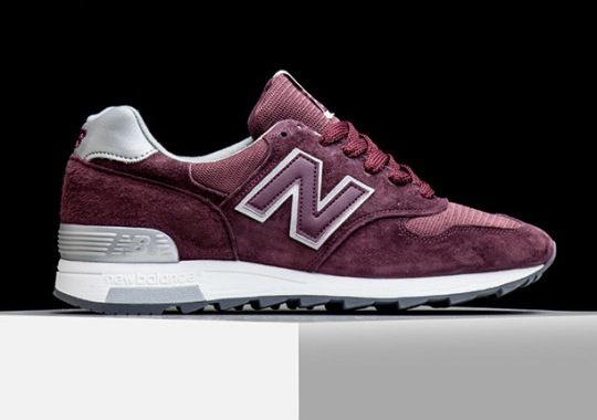 New Balance Debuts A 1400 With Some Amazing Wine Red Suede