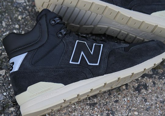 New Balance's Mid-Top 696 Is Too Clean