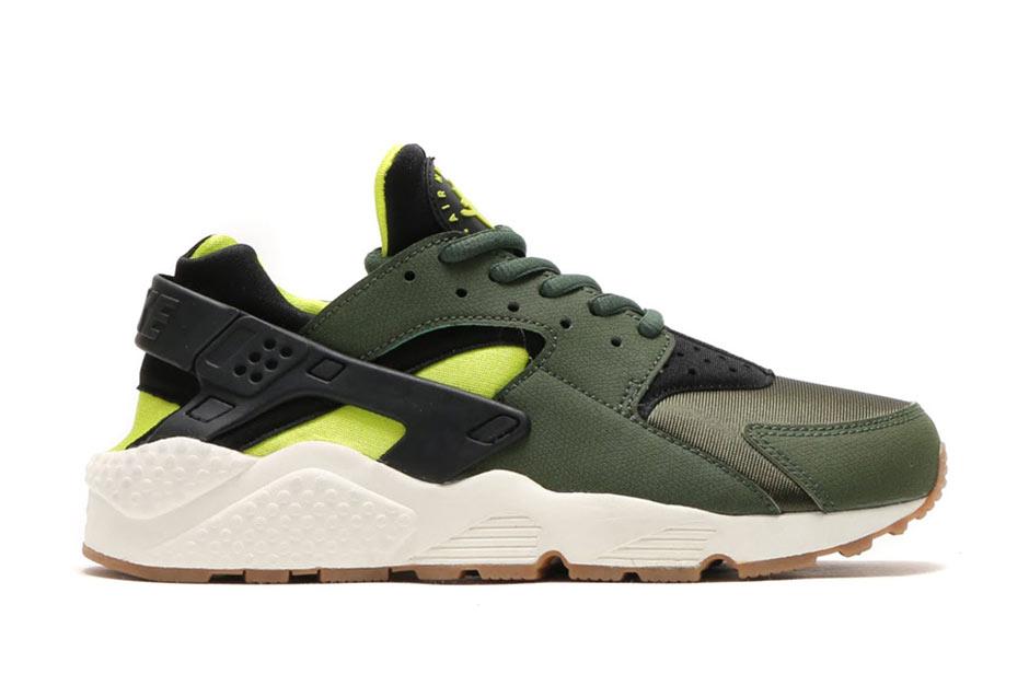 Amazon precio barato venta elección Nike Huarache Negro Verde Y Blanco Único baratos últimas colecciones comprar barato elección auténtica línea barata E3xCWj4