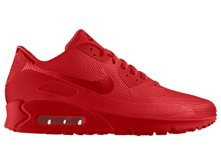 nike air max 90 red october