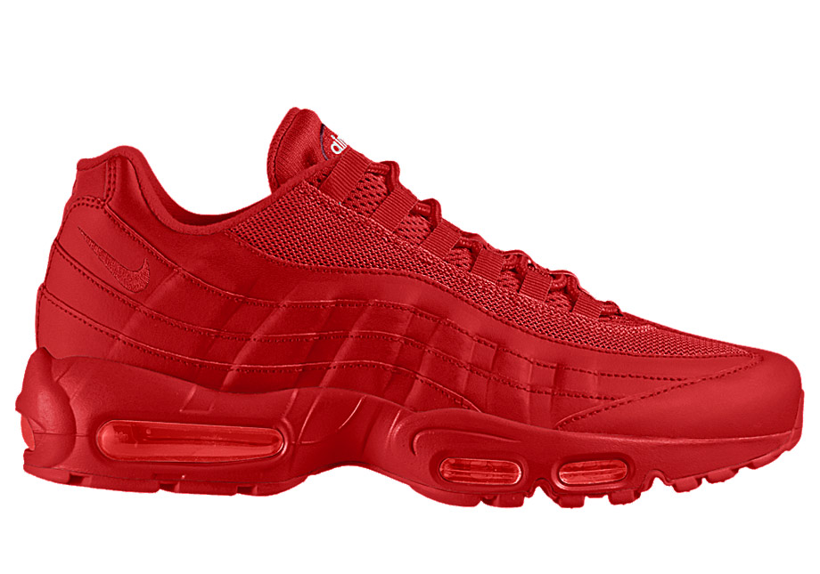 awqem64t authentic all red air max 95