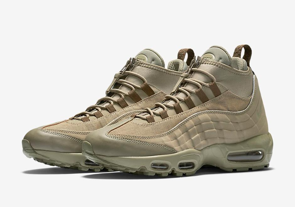 various colors 5eb13 d16fc First Look At The Nike Air Max 95 Sneakerboot - SneakerNews.