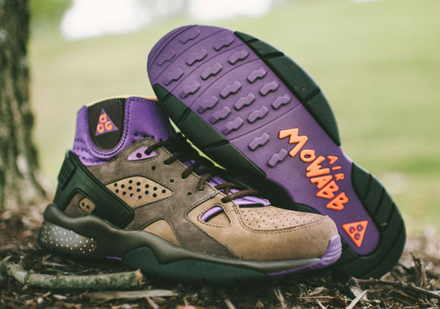"buy popular c87bb e43d1 Nike Welcomes Back The Air Mowabb In ""Trail End Brown"""