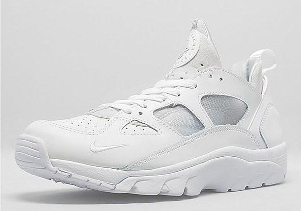 air trainer huarache low blanche