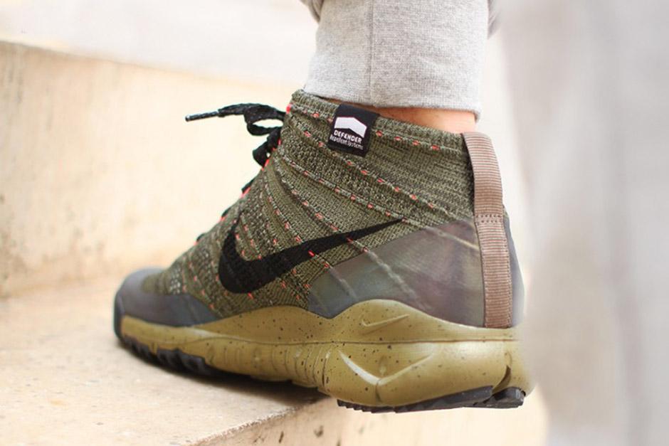 Nike Flyknit Mattonelle Nero Iridescente Chukka Fsb LjSct81