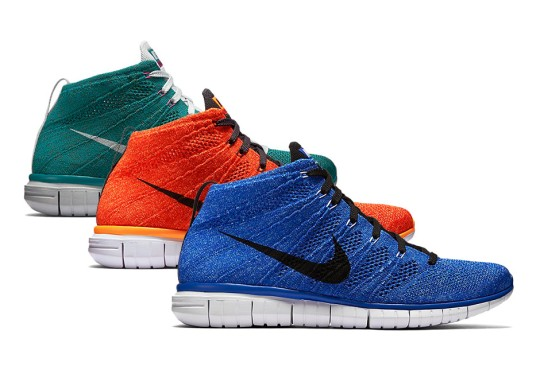 More Nike Free Flyknit Chukkas For Fall 2015