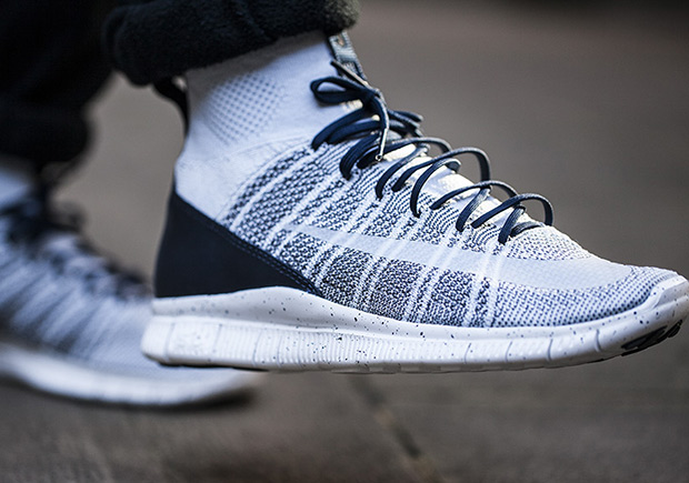 New Nike 5 0 Free Mercurial Superfly Grey Black White Running Shoes