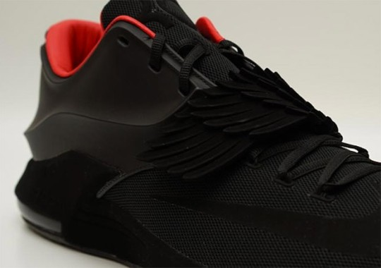"""a9f268c0ad11be Kevin Durant Reveals A Matte Black Nike KD 7 """"Aunt Pearl"""" Sample"""