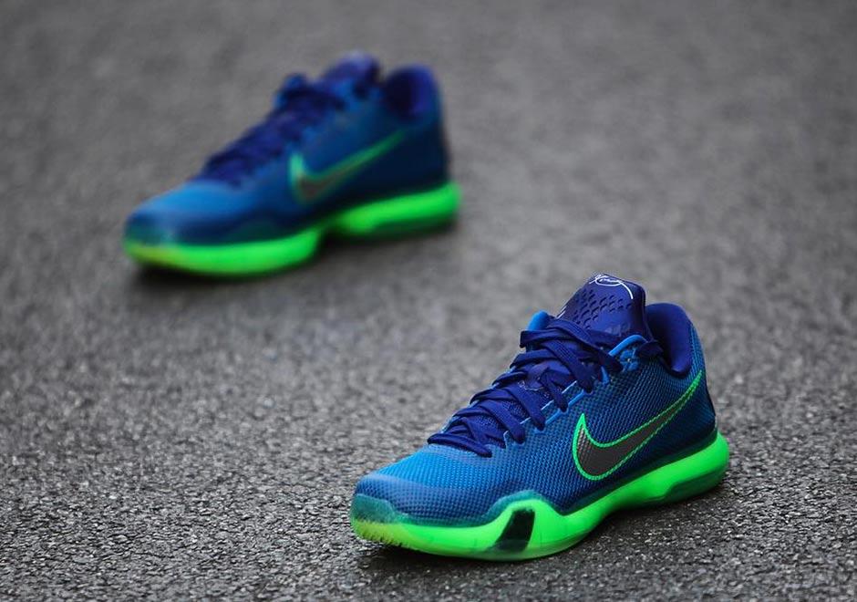 "huge discount d31c4 878e6 Nike Kobe 10 ""Emerald City"""