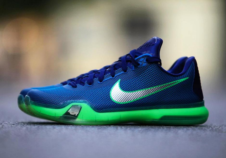 2015 10 02 Nike Kobe 10 Emerald City Releases Tomorrow Newest Kobe Shoes