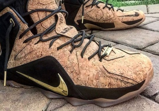 "Another Reason To Celebrate With the Nike LeBron 12 EXT ""Cork"""