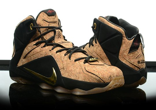 "Nike Basketball Introduces ""King's Cork"" With The LeBron 12 EXT"