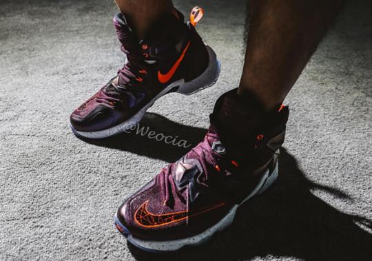 Here's What The Nike LeBron 13 Looks Like On Feet