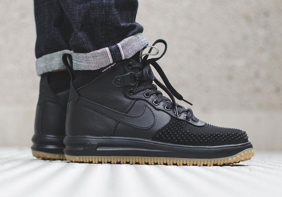 Nike Air Force 1 Stivali Neri 2015 CVAFfj