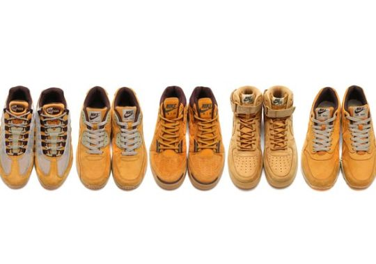 "Finally, The Entire Nike Sportswear ""Wheat"" Pack Seen Together All At Once"