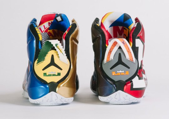 The Greatest Nike Signature Athletes Convene On The What The LeBron 12