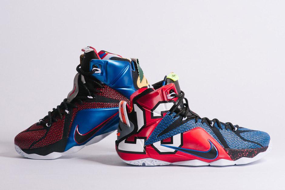 """arrives baca6 6ef16 Nike """"What The"""" LeBron 12"""