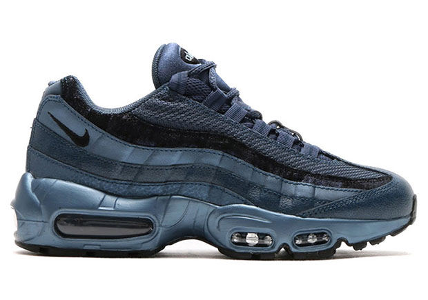 womens nike air max 95 metallic hematite/black/anthracite