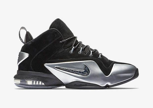 """finest selection 84c6f b8a8d Grab the """"Metallic Silver"""" Air Penny 6 Premium now straight from Nike, or  find them at select Nike Sportswear retailers."""